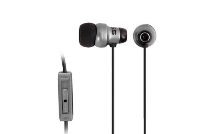 KE29 AURICULAR IN EAR 15-20KHZ C/VOLUMEN GREY