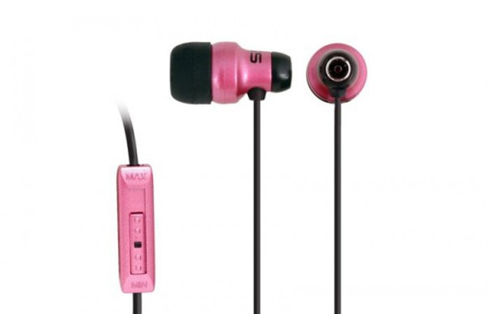KE29 AURICULAR IN EAR 15-20KHZ C/VOLUMEN PINK